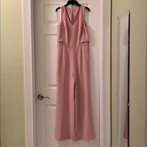 Antonio Melani sleeveless pink jumpsuit Size 2